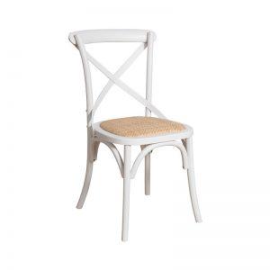 Krzesło białe BARI